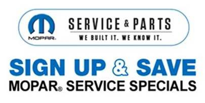 Mopar Service Specials