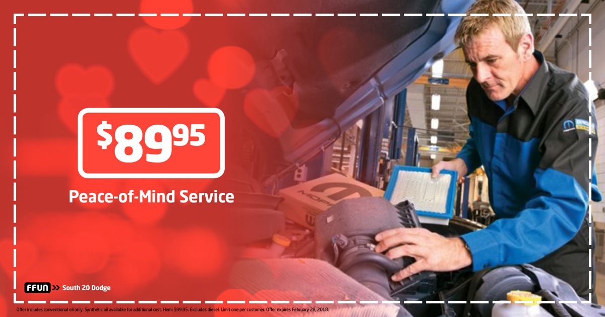 $89.95 Peace-of-Mind Service